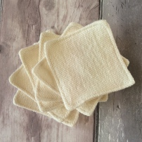 Organic Hemp and Cotton Makeup Remover Pads, Handmade Haven
