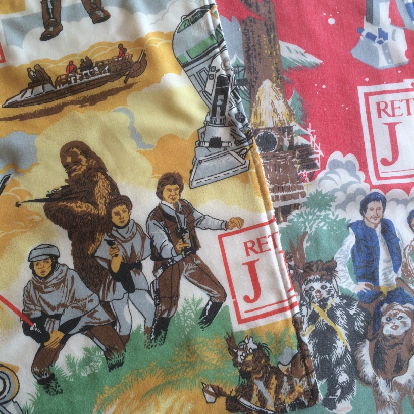 Vintage Star Wars burp cloths, Handmade Haven.