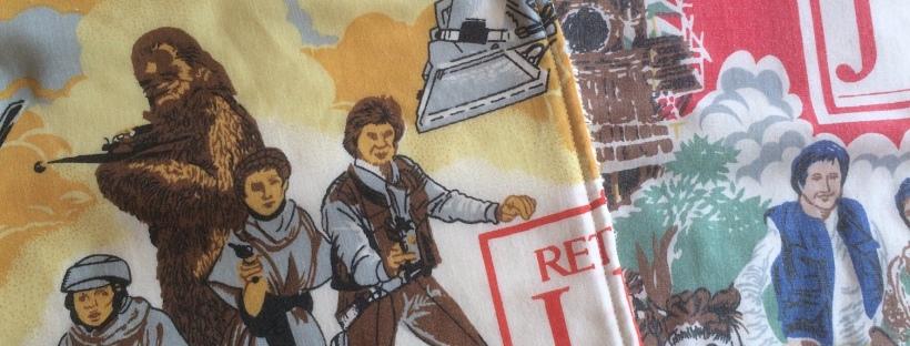 Vintage Star Wars burp cloths, Handmade Haven.
