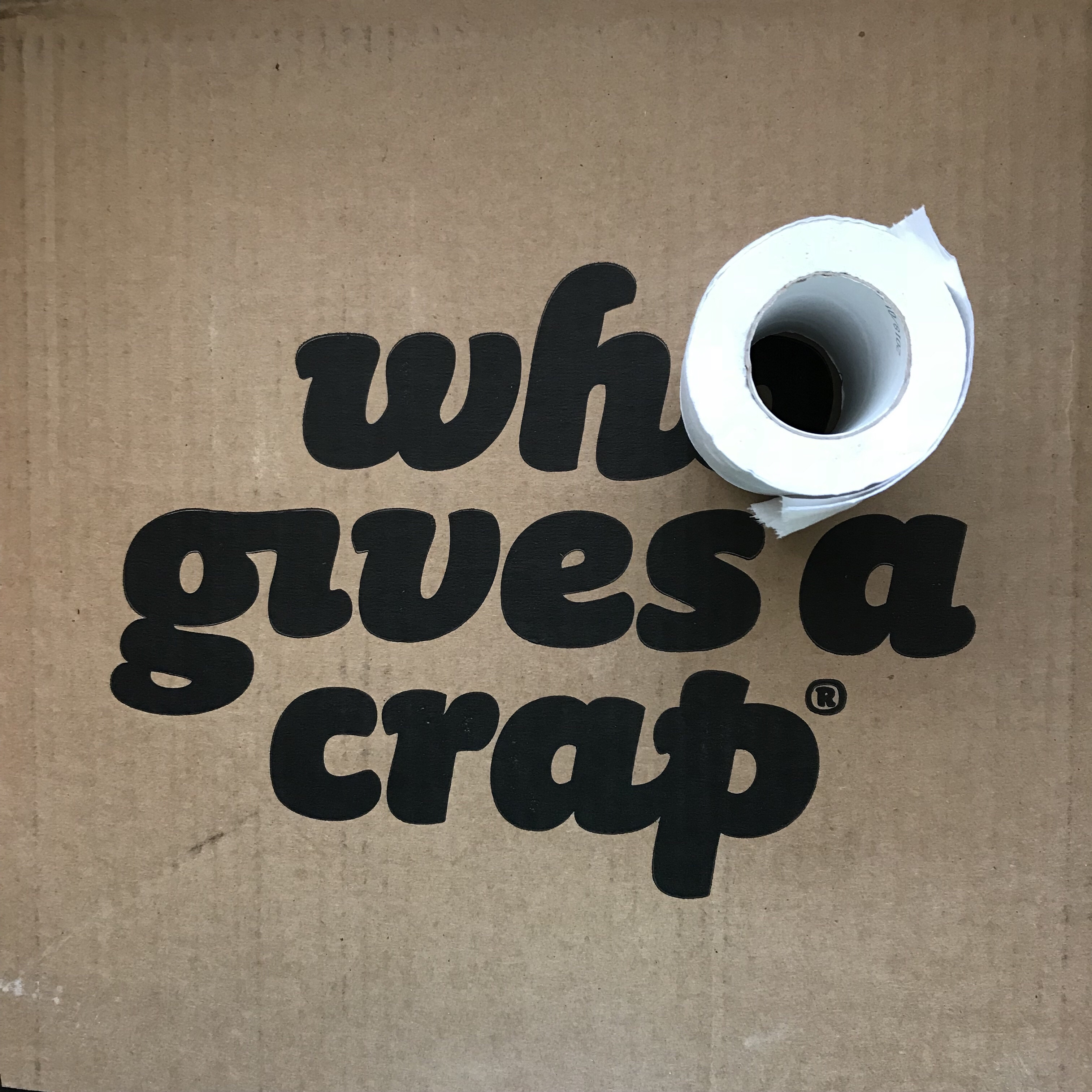 Who Gives a Crap Toilet Rolls, Recycled Paper, Profit-for-Purpose. Handmade Haven's supply.