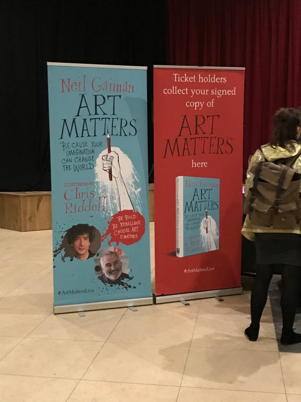 Art Matters, Neil Gaiman, Chris Riddell, EartH, Hackney, Lauren Laverne, Handmade Haven