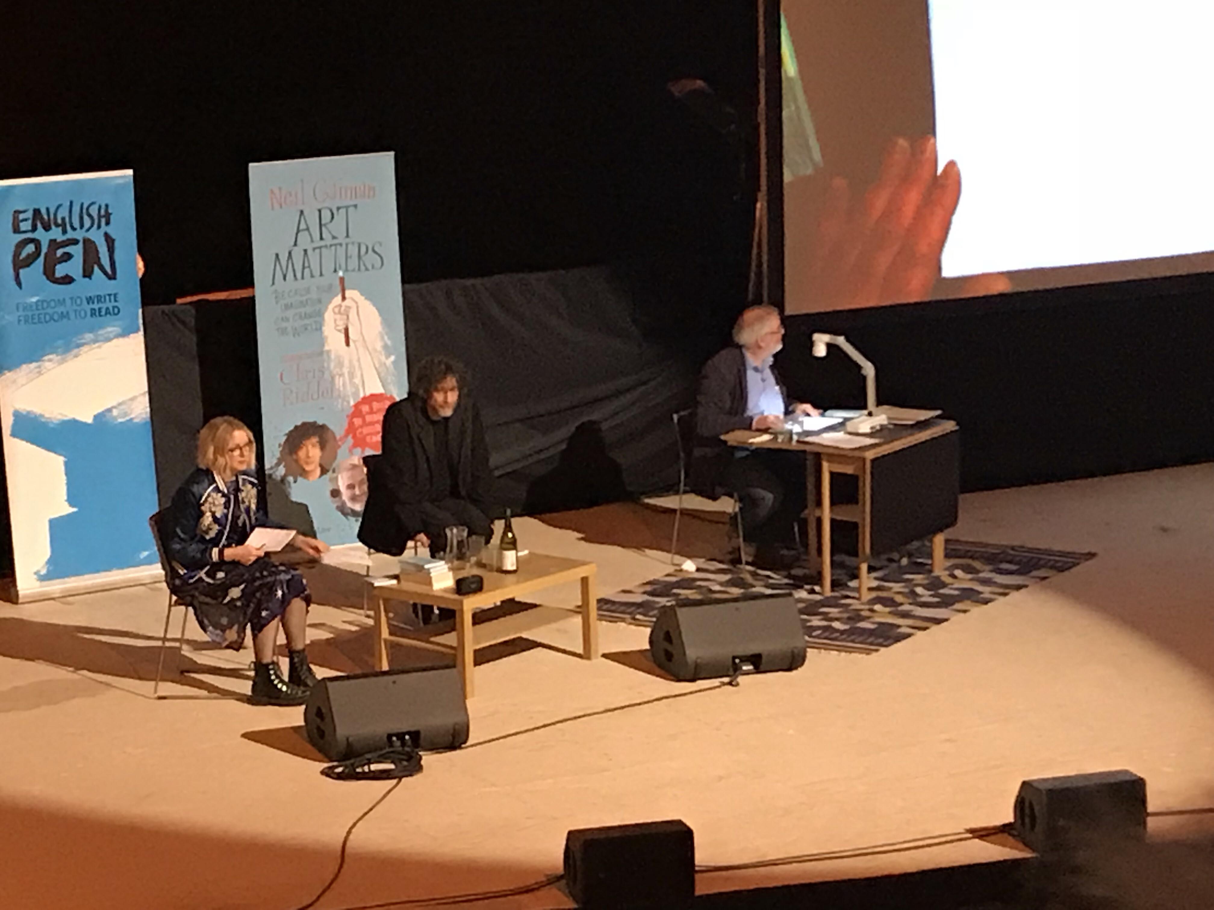 Art Matters, Neil Gaiman, Chris Riddell, EartH, Hackney, Lauren Laverne, Handmade Haven