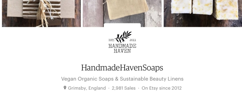 handmade haven, handmade haven soaps, etsy shop