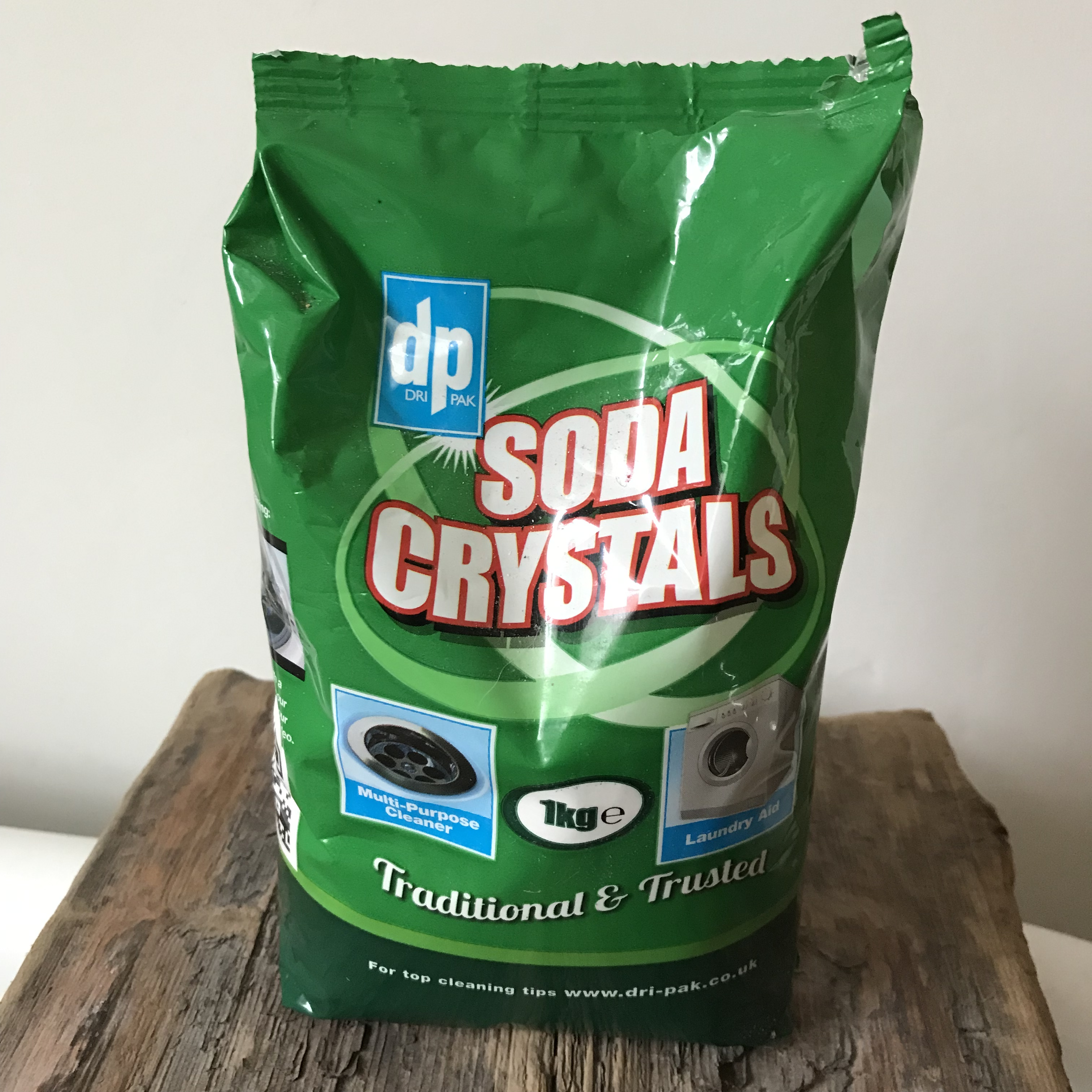 handmade haven, soda crystals, natural household cleaner