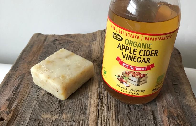 Handmade Haven Vegan Organic Chamomile and Calendula Soap, Organic Apple Cider Vinegar Hair Rinse